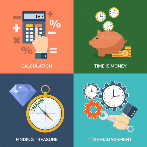 GraphicRiver Set of Business Icons 11225084