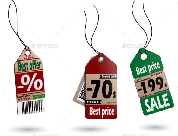 GraphicRiver Price Tags 11225707