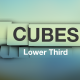 Cubes - Simple and Clean Lower Thirds - VideoHive Item for Sale