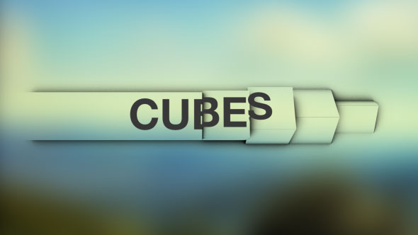 Cubes Simple and Clean Lower Thirds