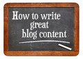 How to write great blog content - PhotoDune Item for Sale