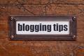 blogging tips label - PhotoDune Item for Sale