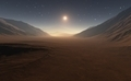 Sunset on Mars. All art elements made by me. Used software Terragen3 - PhotoDune Item for Sale