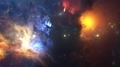 Colorful Nebula. Cloud of gas and dust blocks the light of distant stars. - PhotoDune Item for Sale