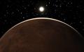 Sunrise over the planet Mars - PhotoDune Item for Sale