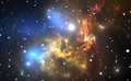 Space background with colorful nebula and stars - PhotoDune Item for Sale
