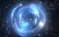 Space background with gravitational lensing - PhotoDune Item for Sale
