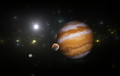 Extrasolar planet with moons. - PhotoDune Item for Sale