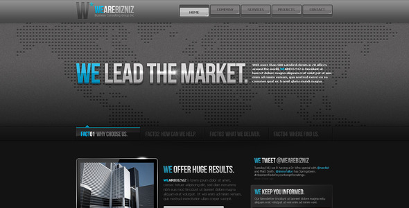 ThemeForest Business Template #11 138823