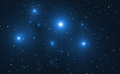Space background with blue bright stars. - PhotoDune Item for Sale
