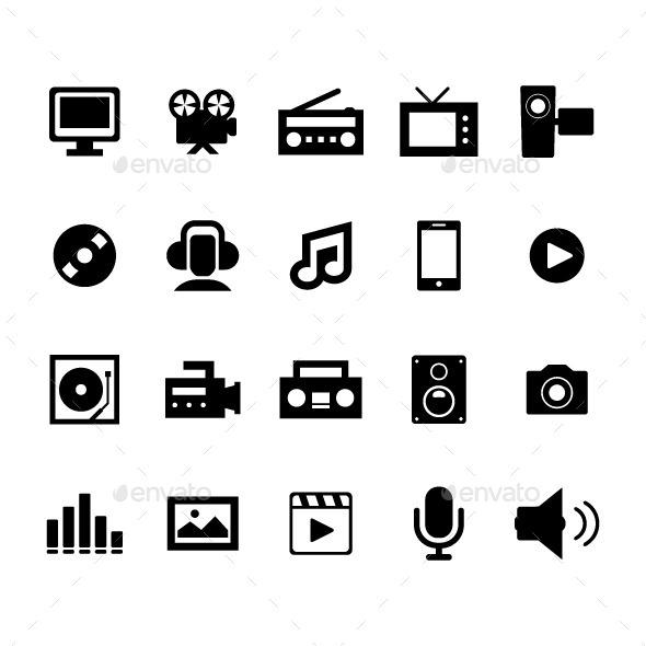 GraphicRiver Multimedia Icon 11226127