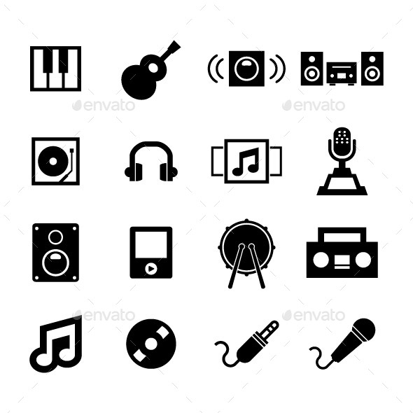 GraphicRiver Music Icon 11226141