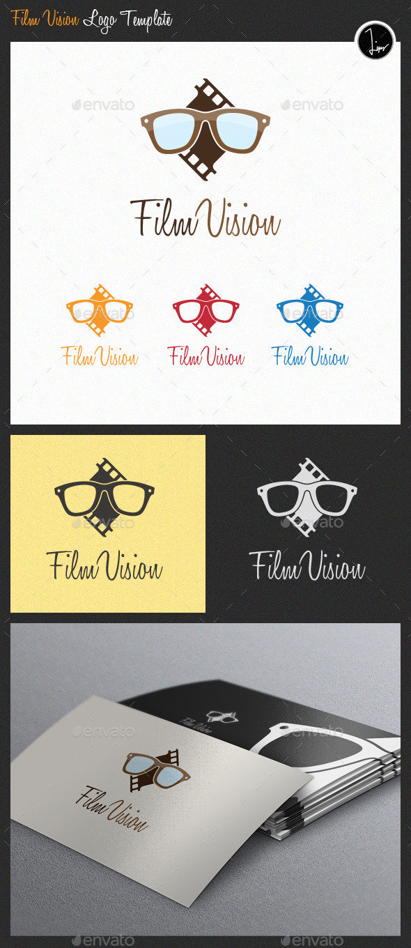 GraphicRiver Film Vision Logo 11226367