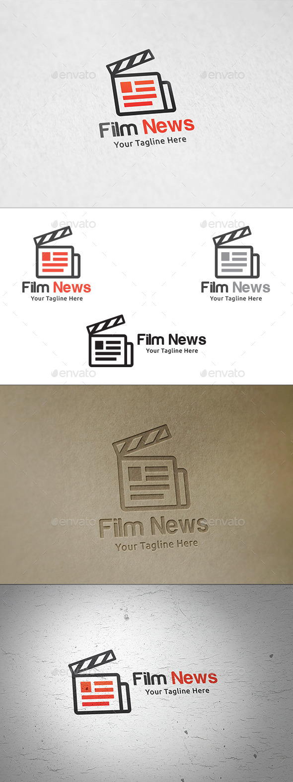 GraphicRiver Film News Logo Template 11226853