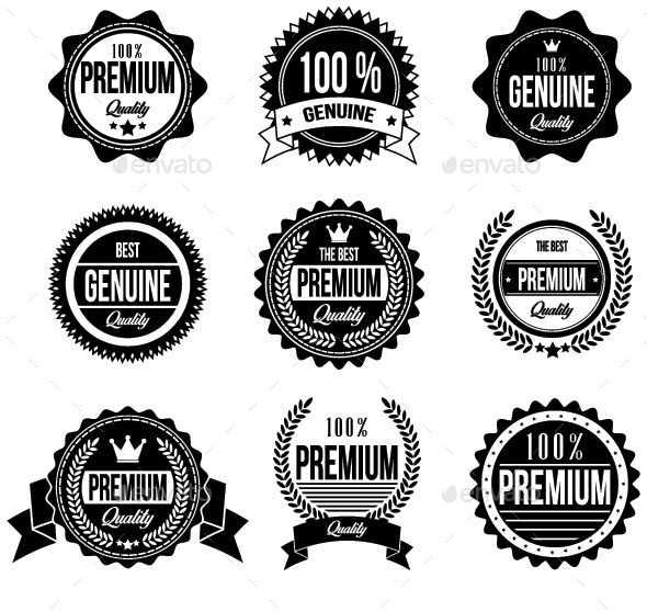 GraphicRiver Clean and Retro Badges 11226871