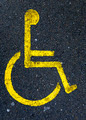 handicapped zone - PhotoDune Item for Sale