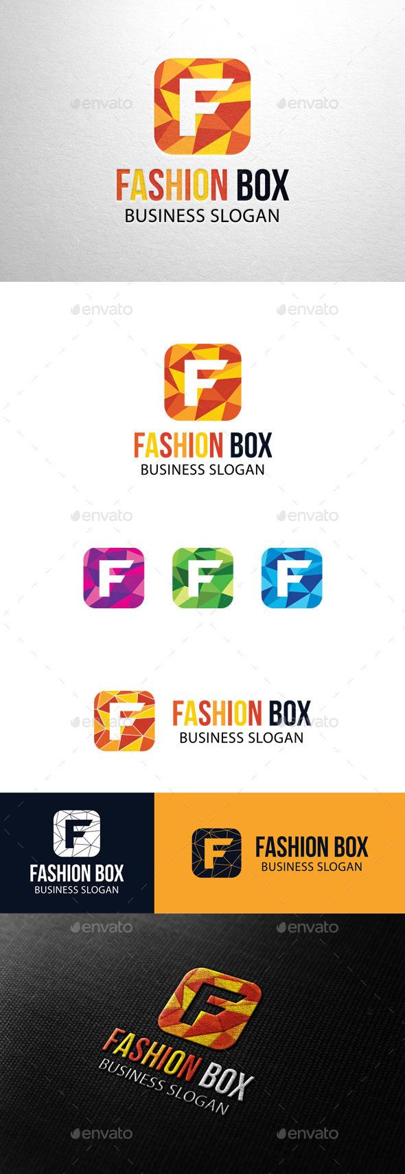 GraphicRiver Fashion Box Letter F Logo 11226986