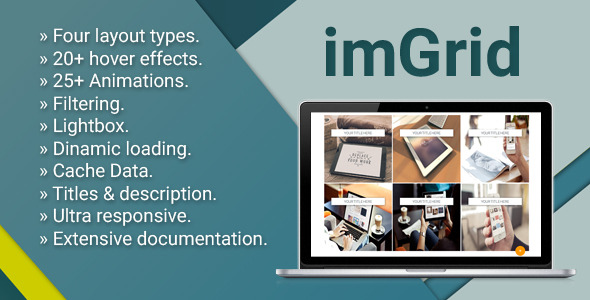 CodeCanyon imGrid Media Grid Responsive Gallery 11227113