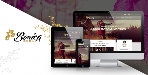 ThemeForest Bonica Personal & Blog HTML Template 11130491