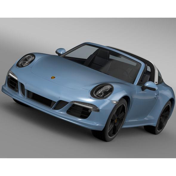 3DOcean Porsche 911 Targa 4s Exclusive 2015 11227202