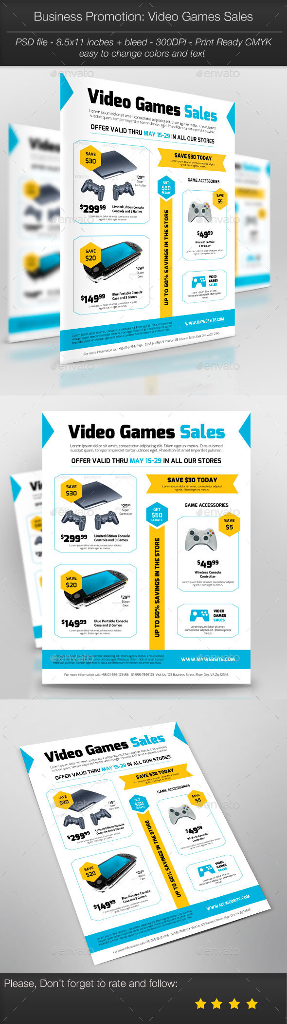 GraphicRiver Business Promotion Video Games Sales 11227255