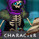 Character Sprite: Skeleton Mage