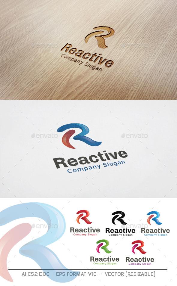 GraphicRiver Reactive R letter Logo 11227307