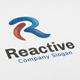 Reactive - R letter Logo - GraphicRiver Item for Sale