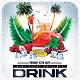 Cocktail Drink Summer Flyer Template - GraphicRiver Item for Sale
