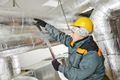 female insulation worker - PhotoDune Item for Sale