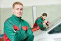 Windscreen repairman workers - PhotoDune Item for Sale