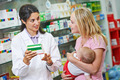 Pharmacy chemist, mother and child in drugstore - PhotoDune Item for Sale