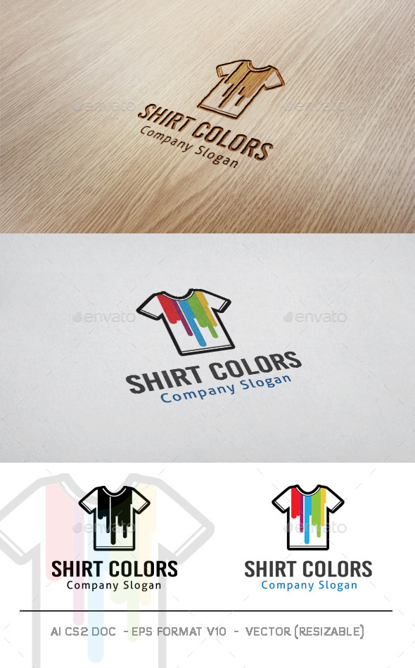 GraphicRiver Shirt Colors Logo 11227363
