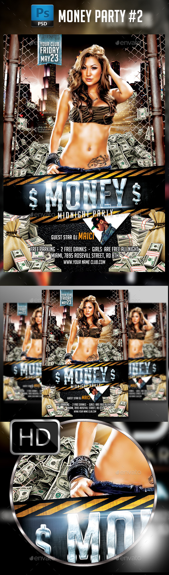 GraphicRiver Money Party #2 11189840