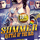 Summer Dj Battle - GraphicRiver Item for Sale