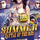 Summer Dj Battle - GraphicRiver Item for Sale