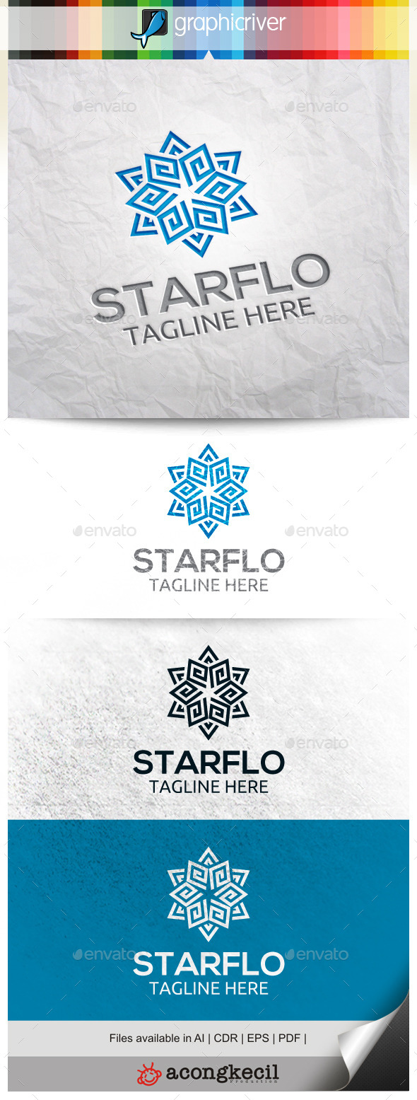GraphicRiver Star Flower V.3 11227682