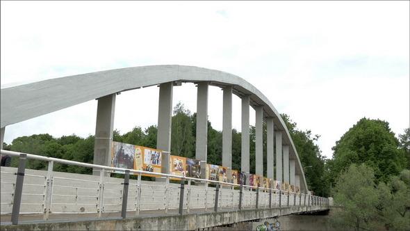 VideoHive The Bridge Over the River in Emajogi 11227782