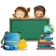 Students and Board - GraphicRiver Item for Sale
