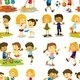 Seamless  Children - GraphicRiver Item for Sale