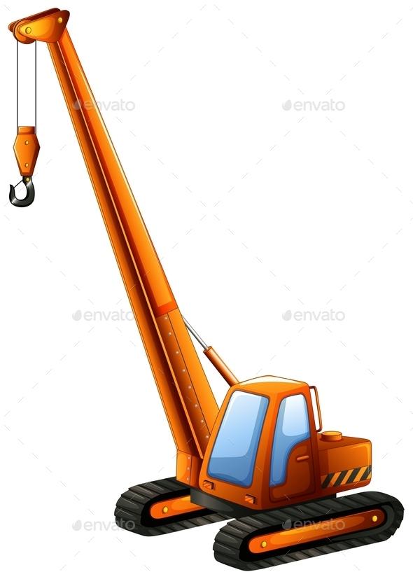 GraphicRiver Crane Truck 11229167