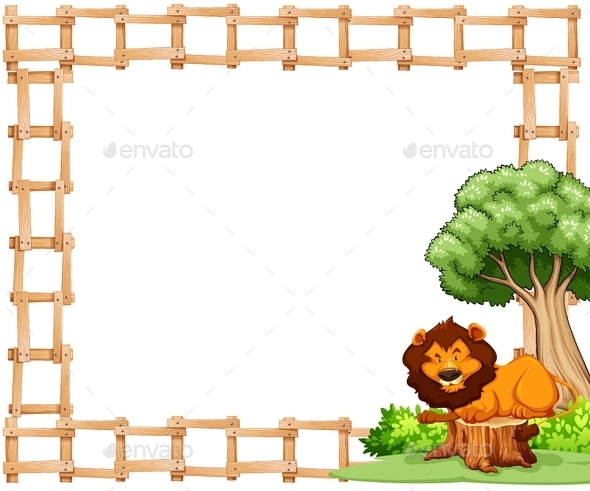 GraphicRiver Frame with Lion 11229710