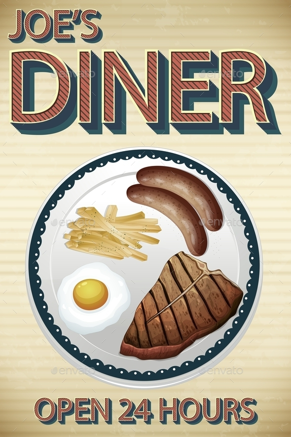 GraphicRiver Dinner 11229967