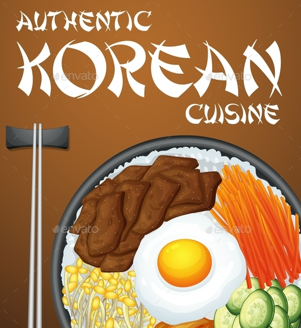 GraphicRiver Bibimbap Korean 11230224