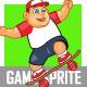 Fat Boy Skater Sprite - GraphicRiver Item for Sale