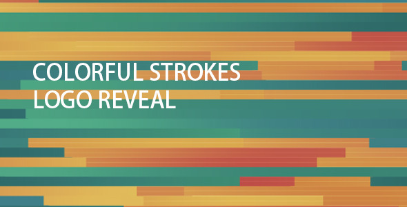 Colorful Strokes Logo Reveal