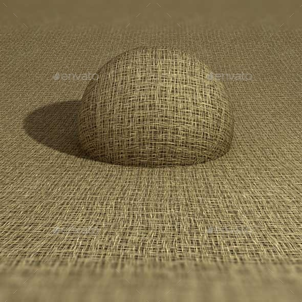 Burlap Sack Texture - 3DOcean Item for Sale