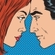 Man And Woman Looking At Each Other - GraphicRiver Item for Sale