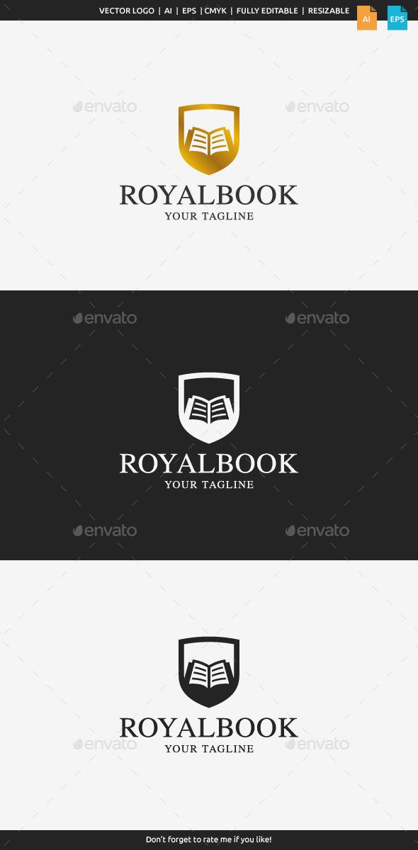 GraphicRiver Royal Book Logo 11231662