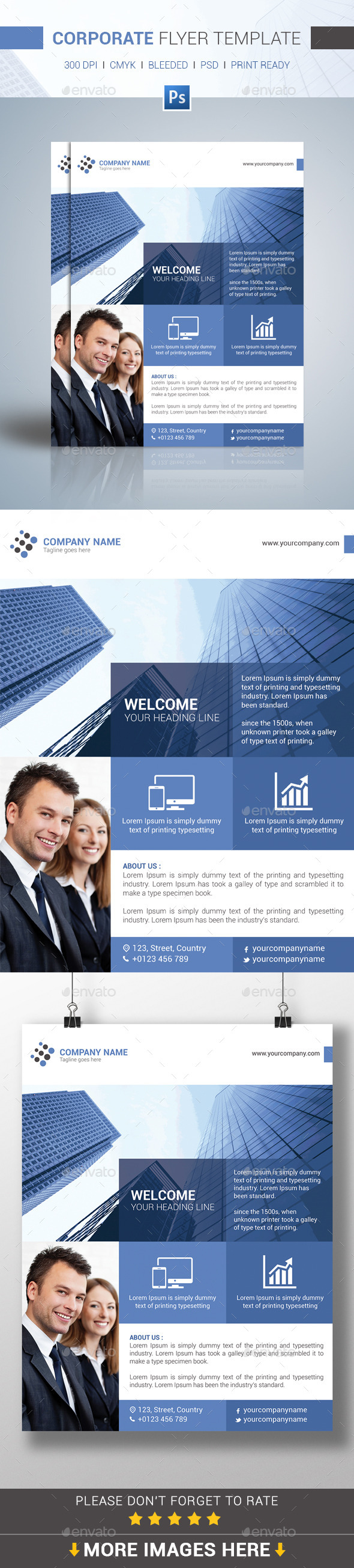 GraphicRiver Corporate Flyer Template 11232149